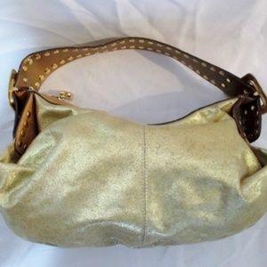 KATHY VAN ZEELAND vegan hobo shoulder bag satchel